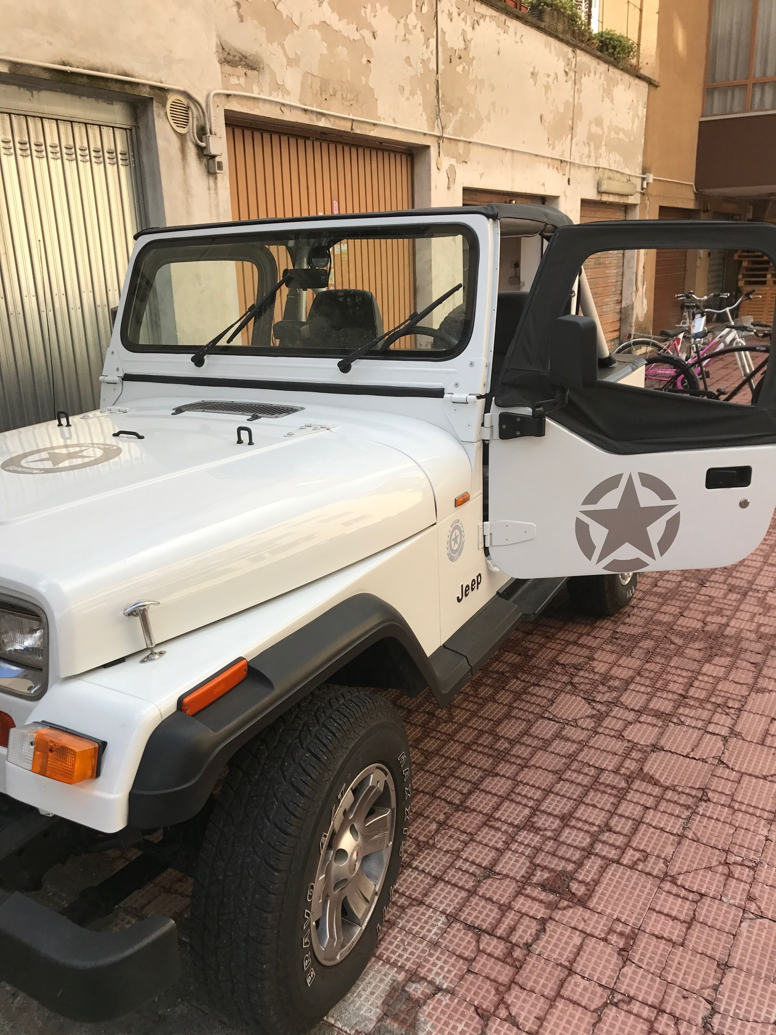 Wrangler yj dal 1987 al 1996 jeepgeneration since 1997 for Moquette jeep wrangler yj